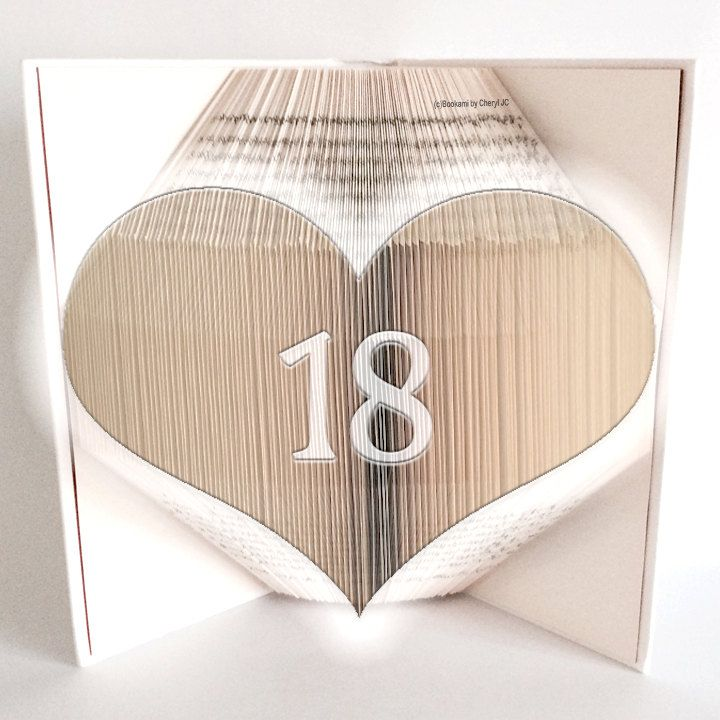 Book Folding Pattern Bookami 60 Heart 60 Pages60 Folds Enchanting Book Folding Patterns Free Download