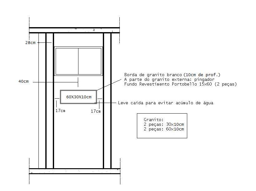 altura de nicho de banheiro  Pesquisa Google  Medidas  Pinterest  Nicho,  -> Nicho Para Banheiro Altura