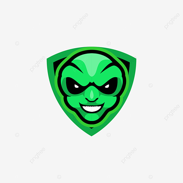Alien Head E Sports Logo Gaming Mascot Team Head Vector Png And Vector With Transparent Background For Free Download Sports Logo Mascot Sports Logo Design