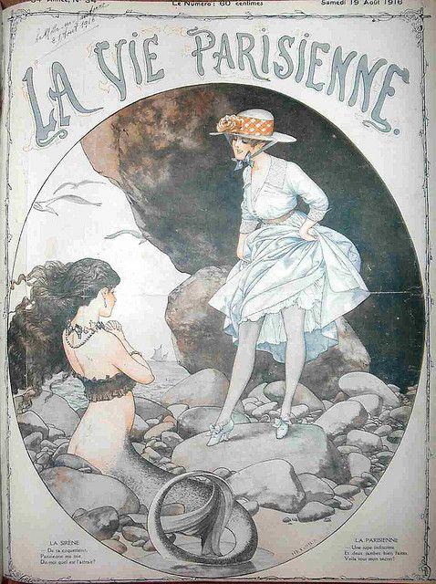 Hérouard - LVP cover - 1916 August by asoftblackstar, via Flickr