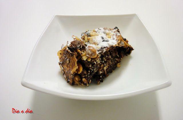 Día a día: Strudell a los Tres Chocolates con Frutos Secos