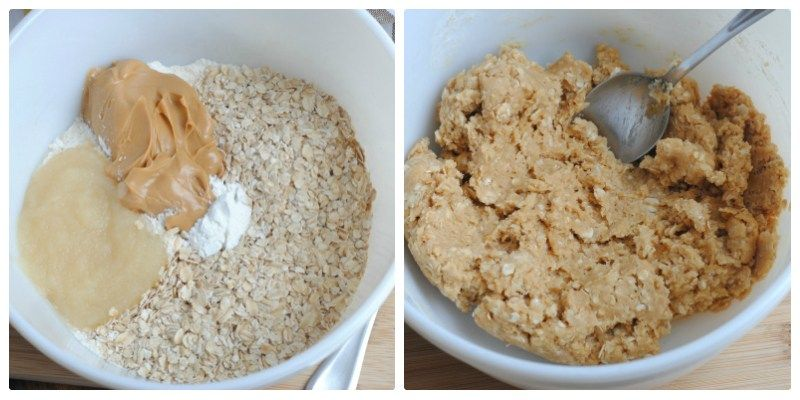 Peanut Butter And Apple Sauce Cookies For Dogs Recipe Dog