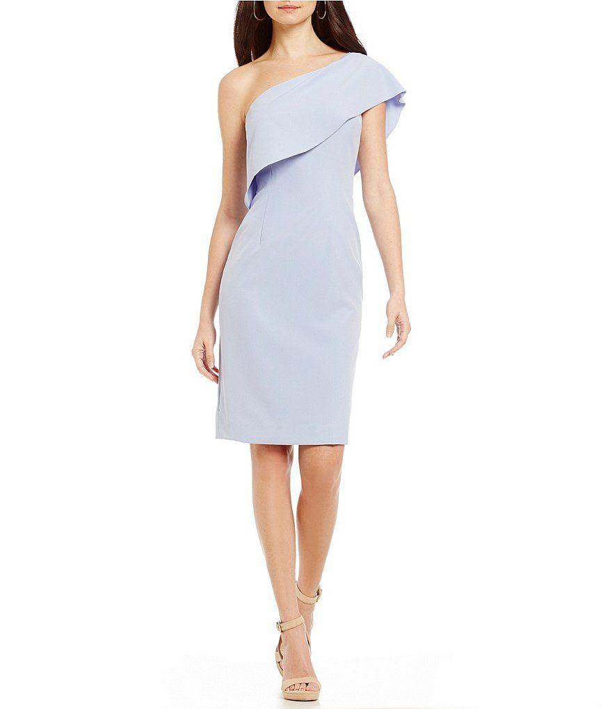 1682f7ff1e9 Antonio Melani Jony Crepe One Shoulder Dress