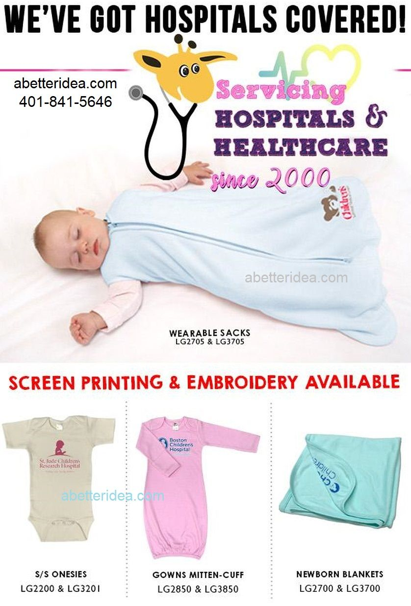 Baby Logo Promotional Items Screen Printing Embroidery Hospital Healthcare Logo Product Business Promotional Gifts Promotional Gifts Company Logo Products