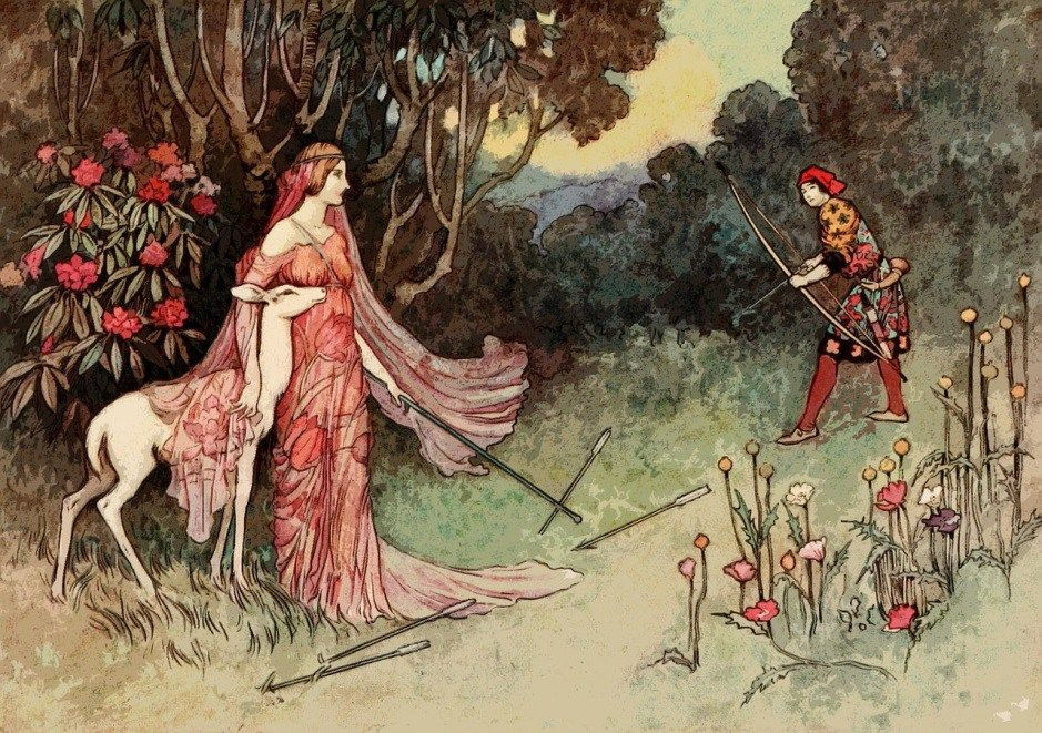 Image result for warwick goble fairy tale