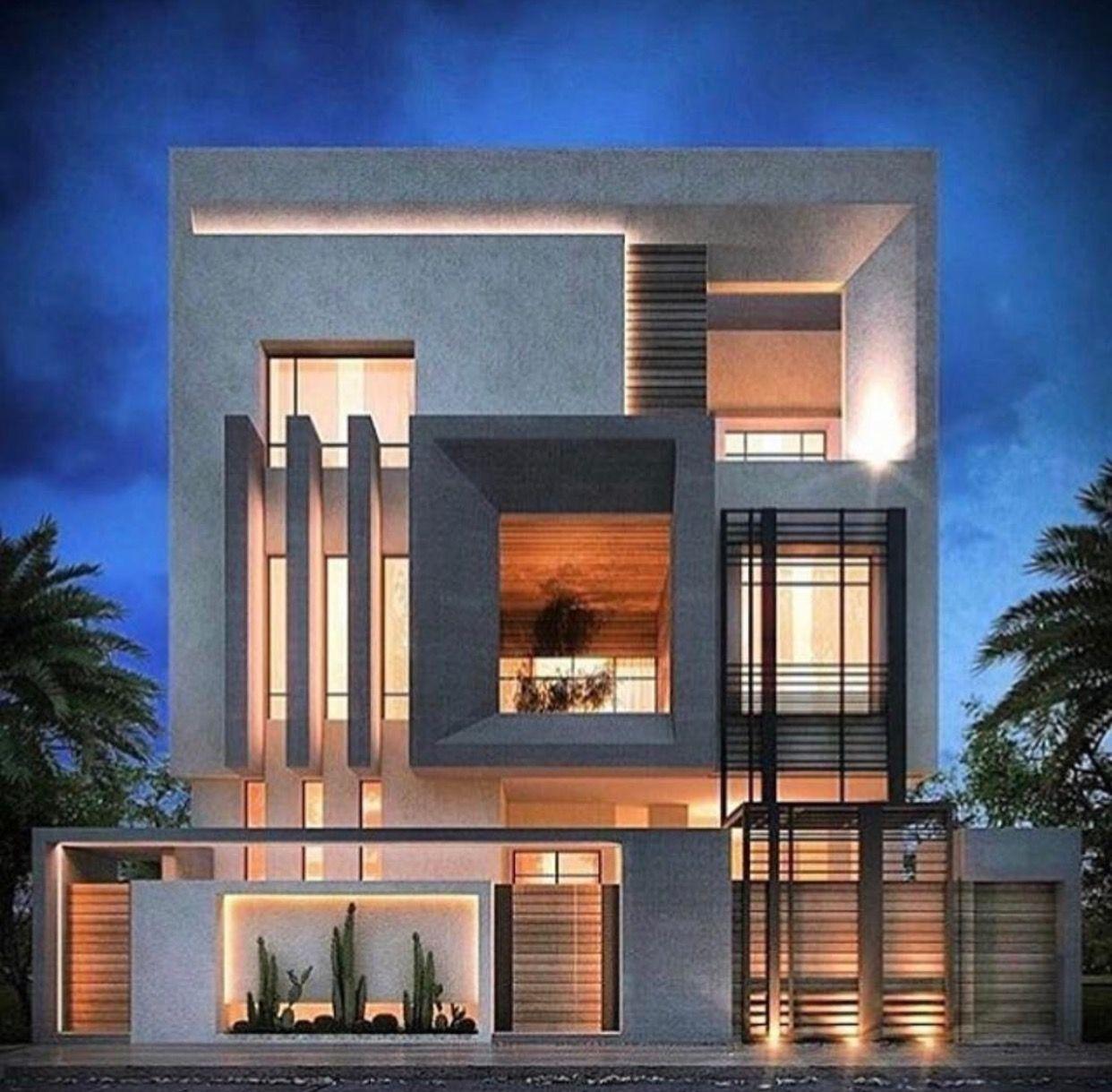 Tres Niveles Fachadas De Casas Modernas Arquitectura Casas Casas