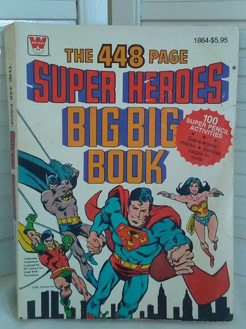 For Sale At Retrophoria Com 18 99 The 448 Page Super Heroes Big Big Book Books Big Book Little Books