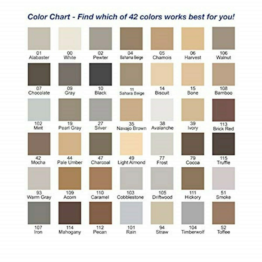Mapei Grout Refresh Color Chart Mapei Grout Grout Stain Mapei Grout Colors