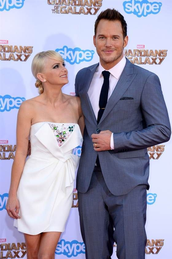 Chris pratt wows us and his wife on guardians red carpet chris pratt wows us and his wife on guardians red carpet junglespirit Image collections