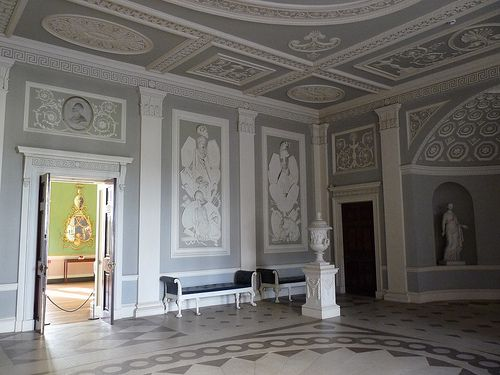 doorway into the Entrance Hall of Osterley Park House