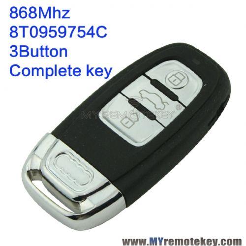 Smart Key For Audi Button Mhz TC Audi KeyAudi Smart - Audi car key