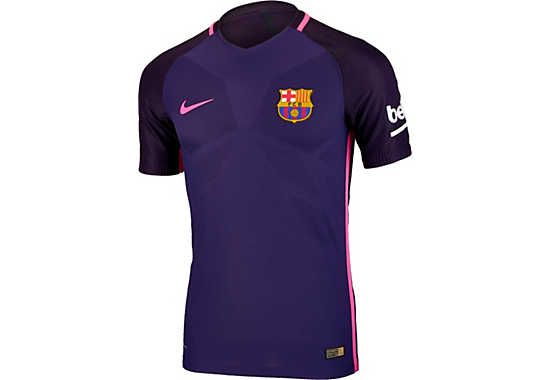 2016/17 Nike FC Barcelona Away Jersey - Authentic Aeroswift Version. Grab  it now