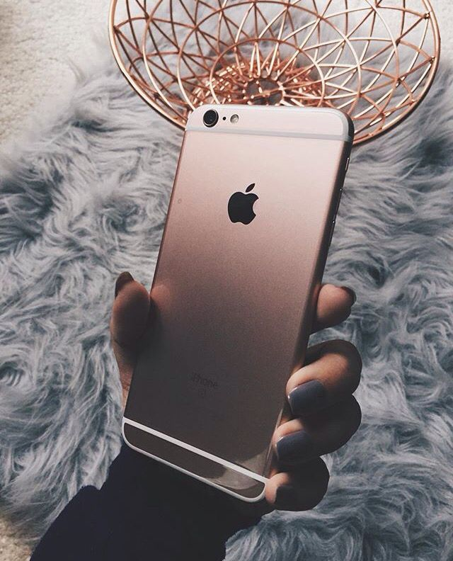 d51a26f657a Iphone6splus Rose Gold Rose Gold Theme, Iphone 6s Gold, Iphone 7 Rose Gold,