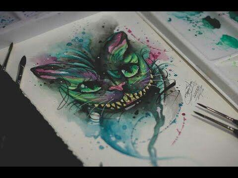 Cheshire Watercolor