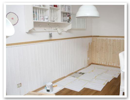 anleitung holzwand wohnideen pinterest holzwand anleitungen und flure. Black Bedroom Furniture Sets. Home Design Ideas