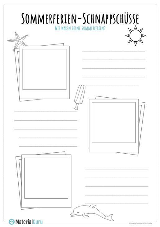 Summer Holiday Worksheets For Kindergarten