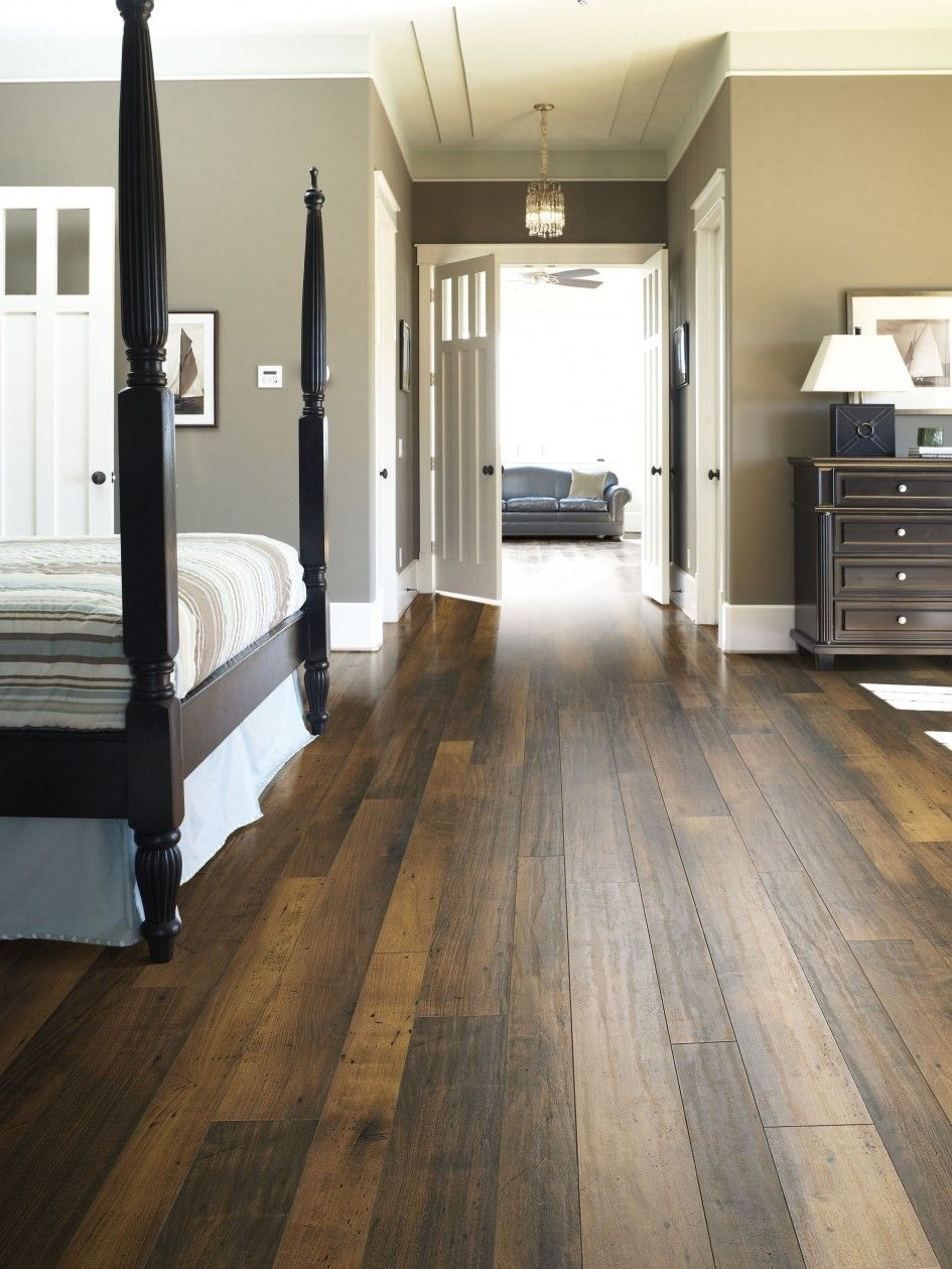 25 dark wood bedroom furniture decorating ideas black for Best laminate flooring for bedrooms
