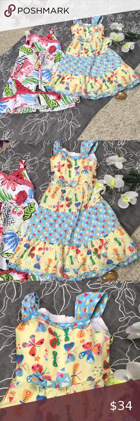 Marmellatta Classics Two Girls 3t Dresses 3t Dress Two Girls Summer Dresses [ 1740 x 580 Pixel ]