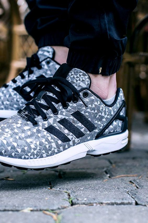 adidas Originals ZX FLUX 5/8 Sneaker high core black/solid grey