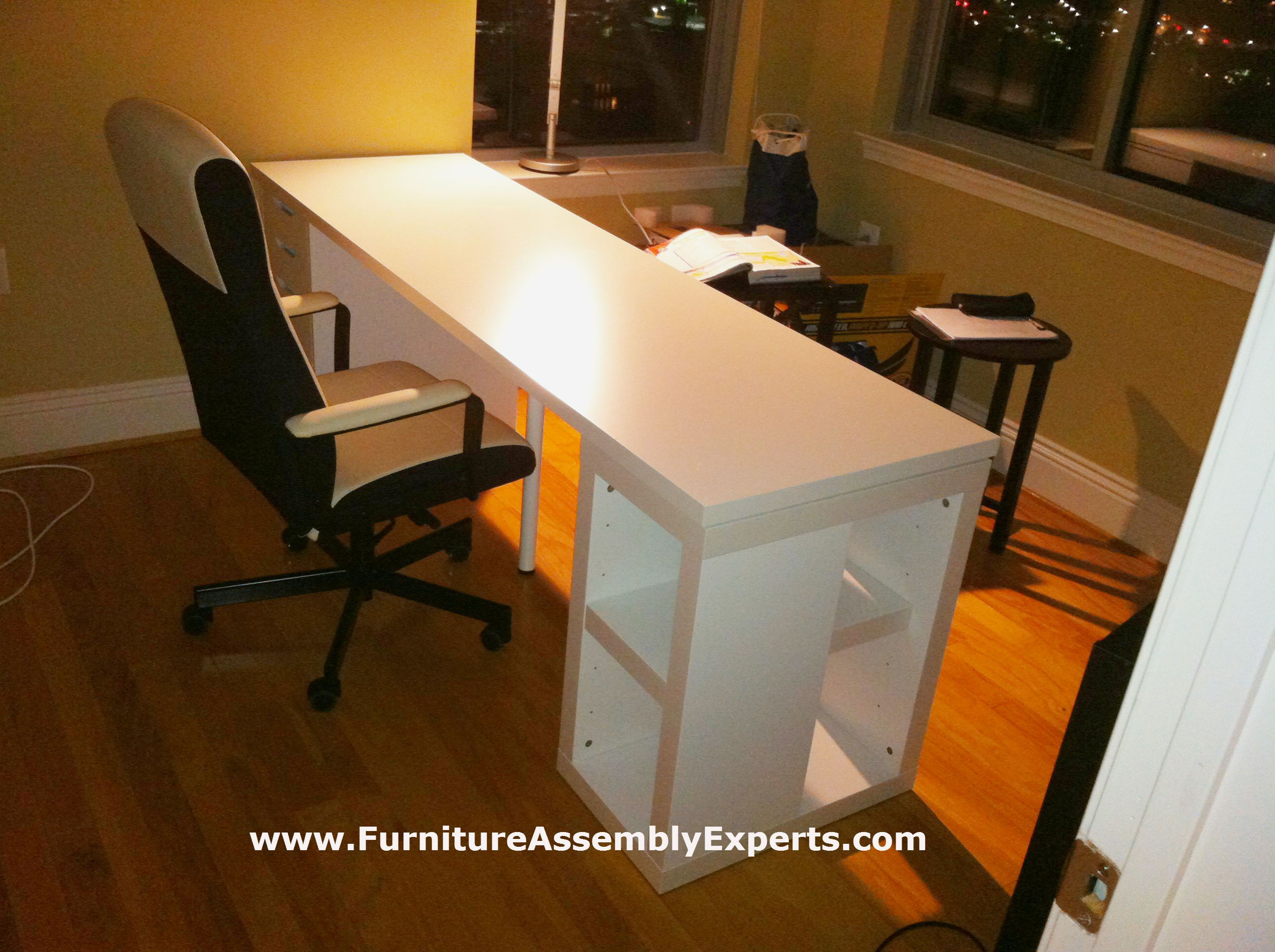 Ikea Study Table Assembled In Jessup Md By Furniture Assembly