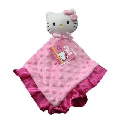 Hellokitty Security Blanket Snuggle Buddy Plush Baby Toy For Nursery Hello Kitty Http Www Amazon C Hello Kitty Baby Hello Kitty Blanket Hello Kitty Nursery