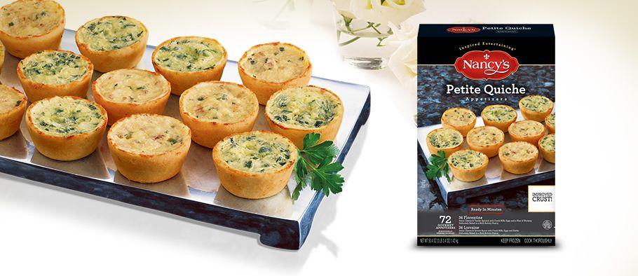 petite quiche 72 ct costco nancy s easy appetizers easy entrees and easy dessert appetizers easy mini quiche recipe easy mini quiche recipes mini quiche recipe easy