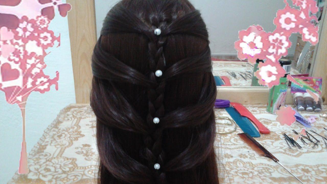 8 Peinados Faciles Rapidos Y Bonitos Con Trenzas De Moda Para Nina En Ca Trenzas De Moda Peinados Para Cabello Largo Peinados Poco Cabello