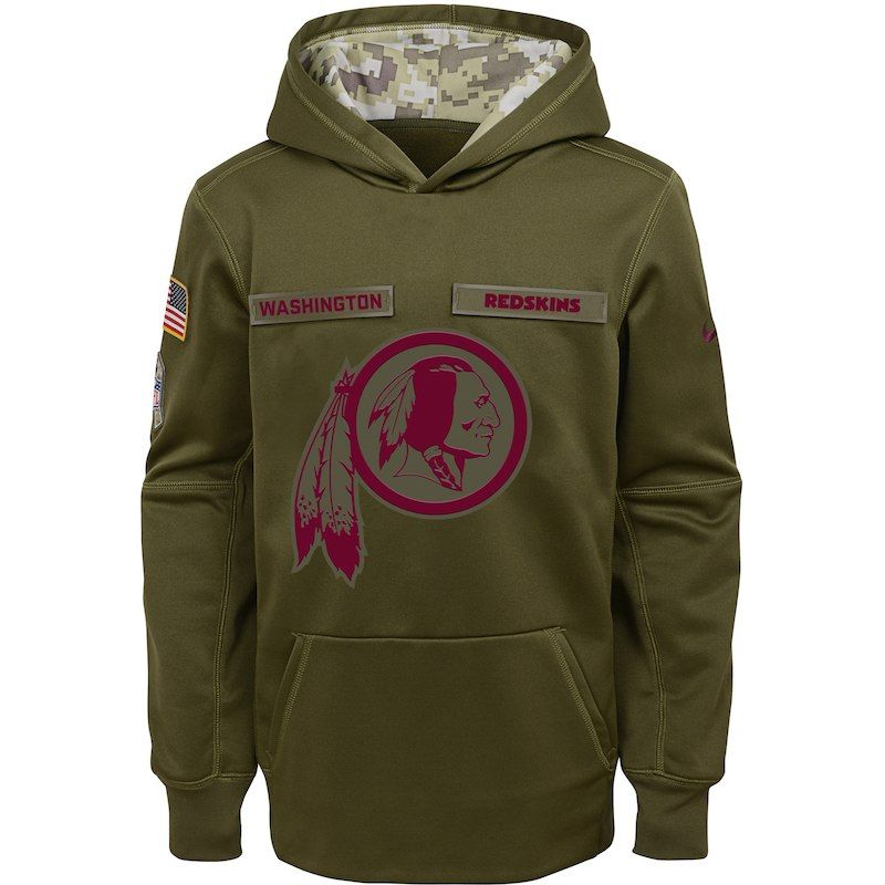 first rate e51f2 f54c6 Washington Redskins Nike Youth Salute to Service Pullover ...
