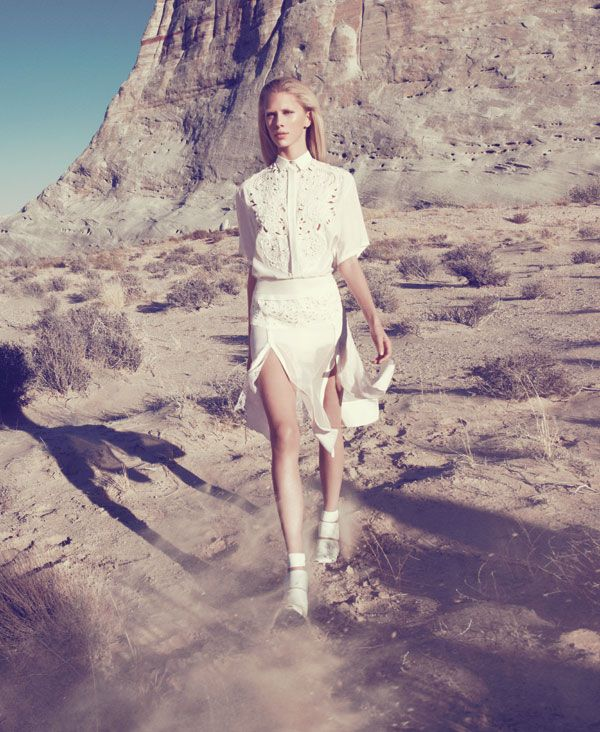 ba11789294ff Spring 2013 Fashion Editorial - Harper s BAZAAR Photographed by Paola  Kudacki Fashion Editor  Tony Irvine