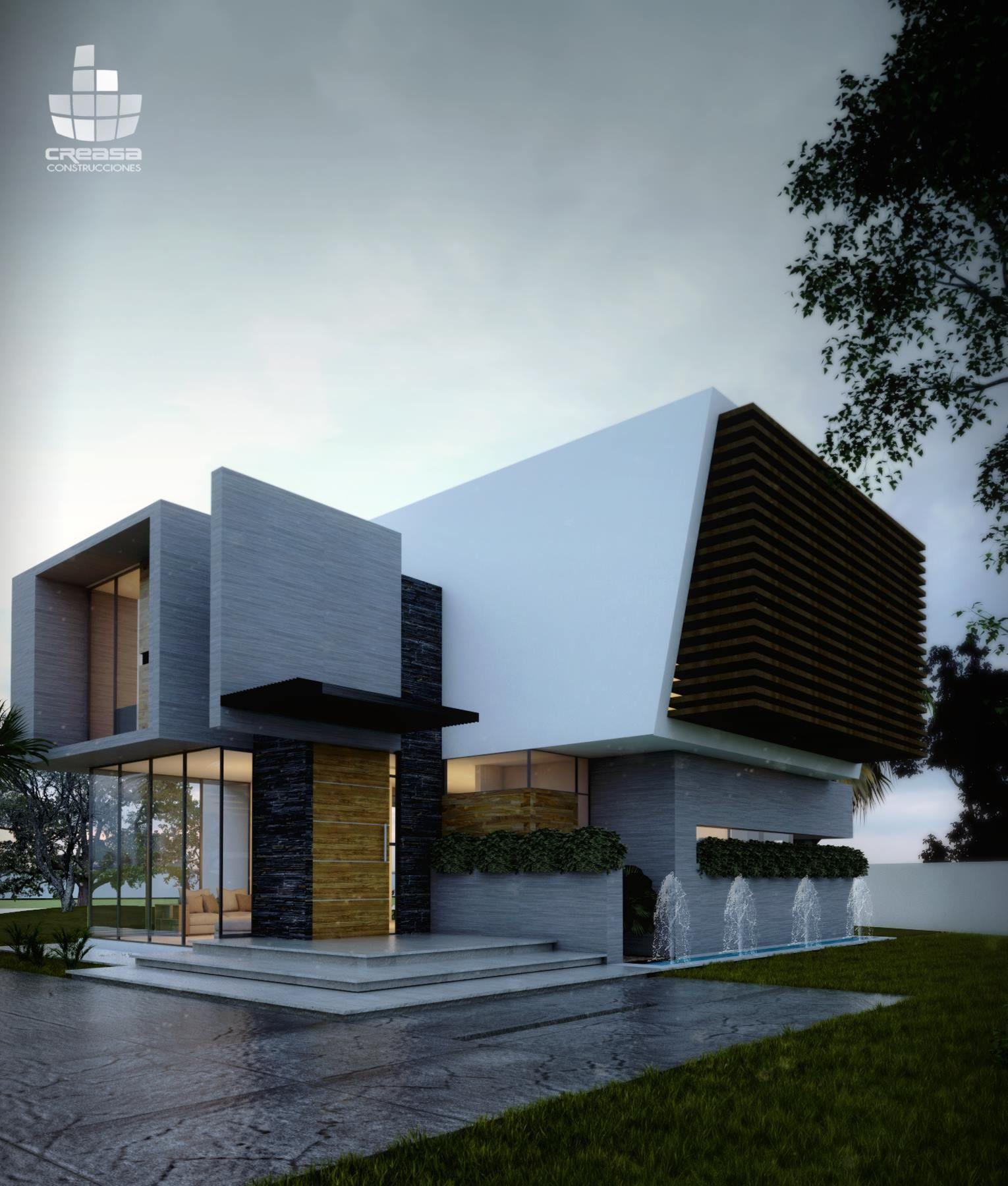 Creasa z creasa mx pinterest arquitectura for Construcciones minimalistas