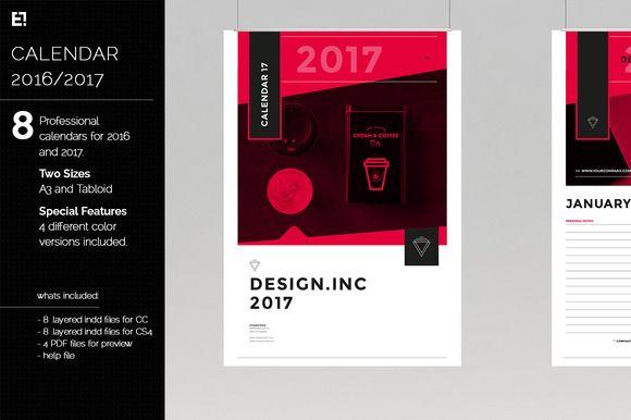 Creative Calendar 2017