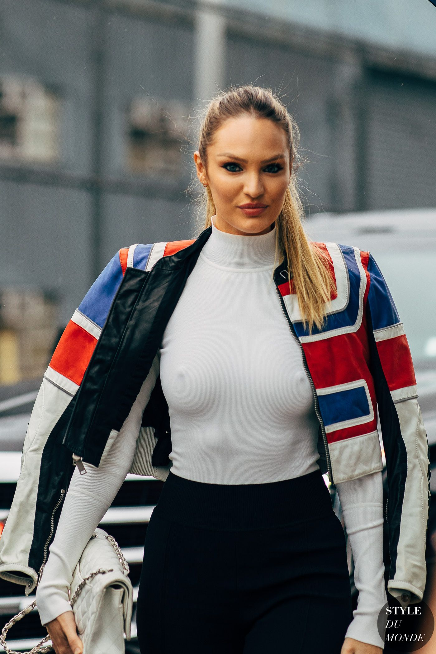 f8cd48d366a Candice Swanepoel by STYLEDUMONDE Street Style Fashion  Photography20180908 48A8041