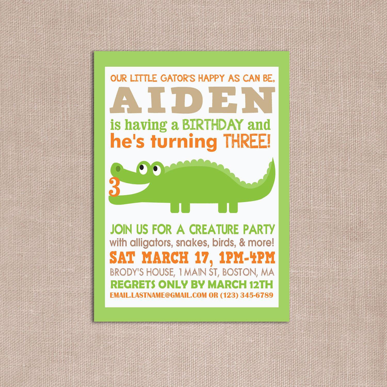 Ty Reserved Party Time Alligator Birthday Alligator Birthday