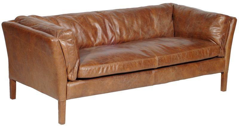 Timothy Oulton Reggio 3 Seat Sofa Sofa 3 Seater Sofa Leather Couch