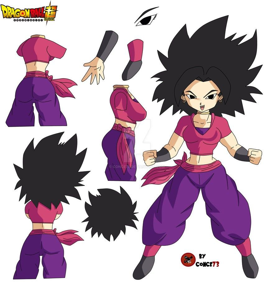 Caulifla Dragones Dragon Ball Akira
