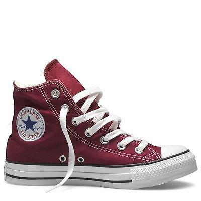 Maroon converse high tops, Converse shoes