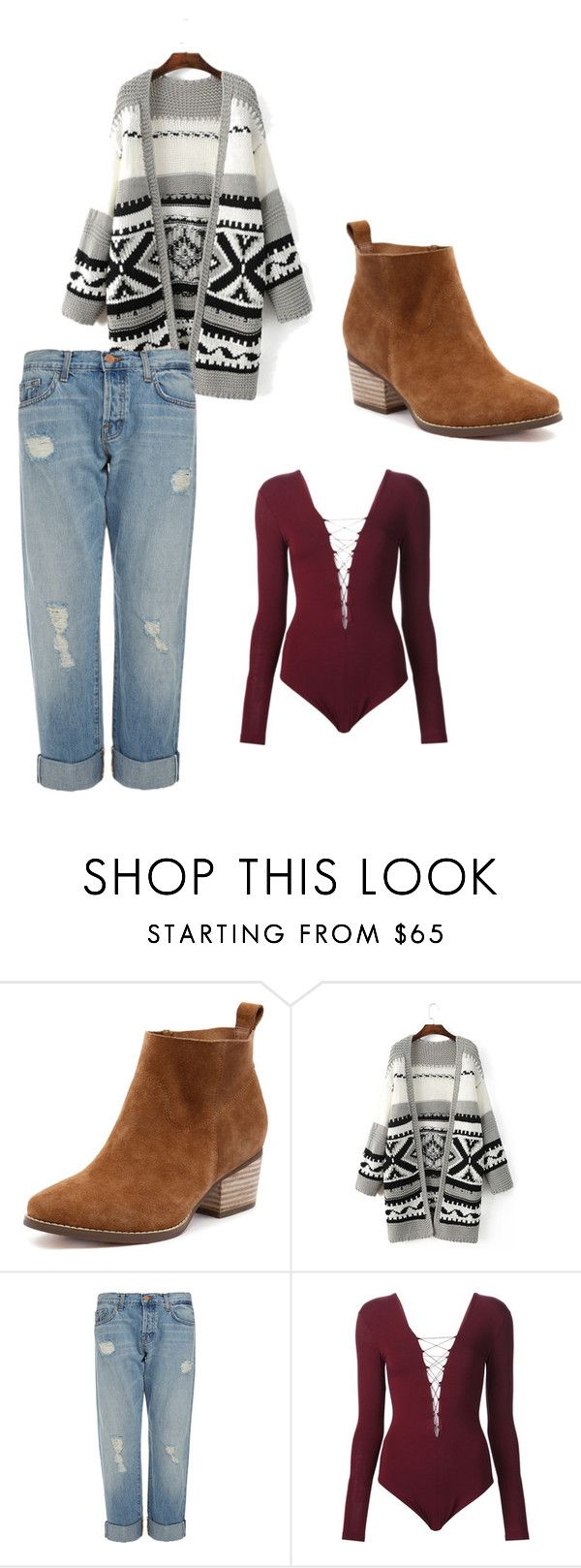 """""""Hot"""" by eviegrace2002 ❤ liked on Polyvore featuring J Brand and T By Alexander Wang"""