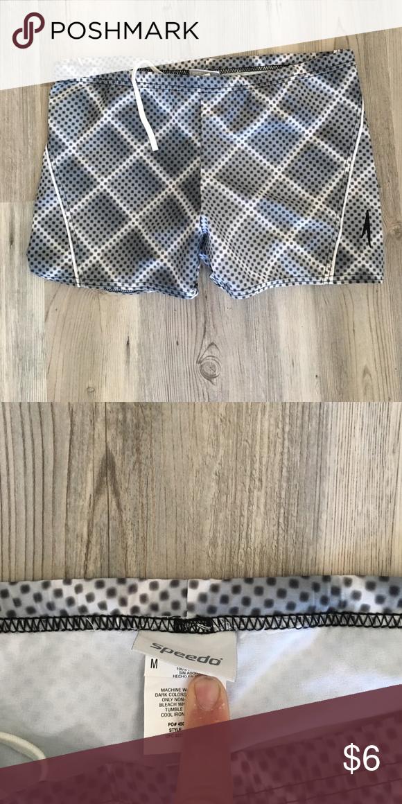 Grey Speedo Trunks Size Medium barely worn! Speedo Swim Swim Trunks