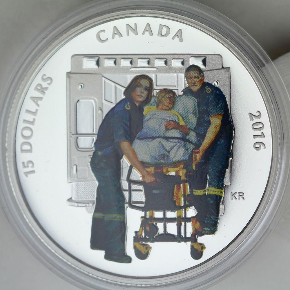 Canada 2016 15 national heroes paramedics9999 pure