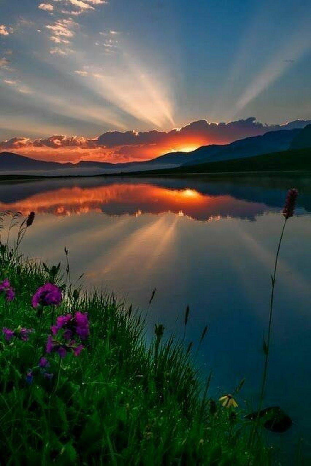 Рассвет доброе утро картинки красивые