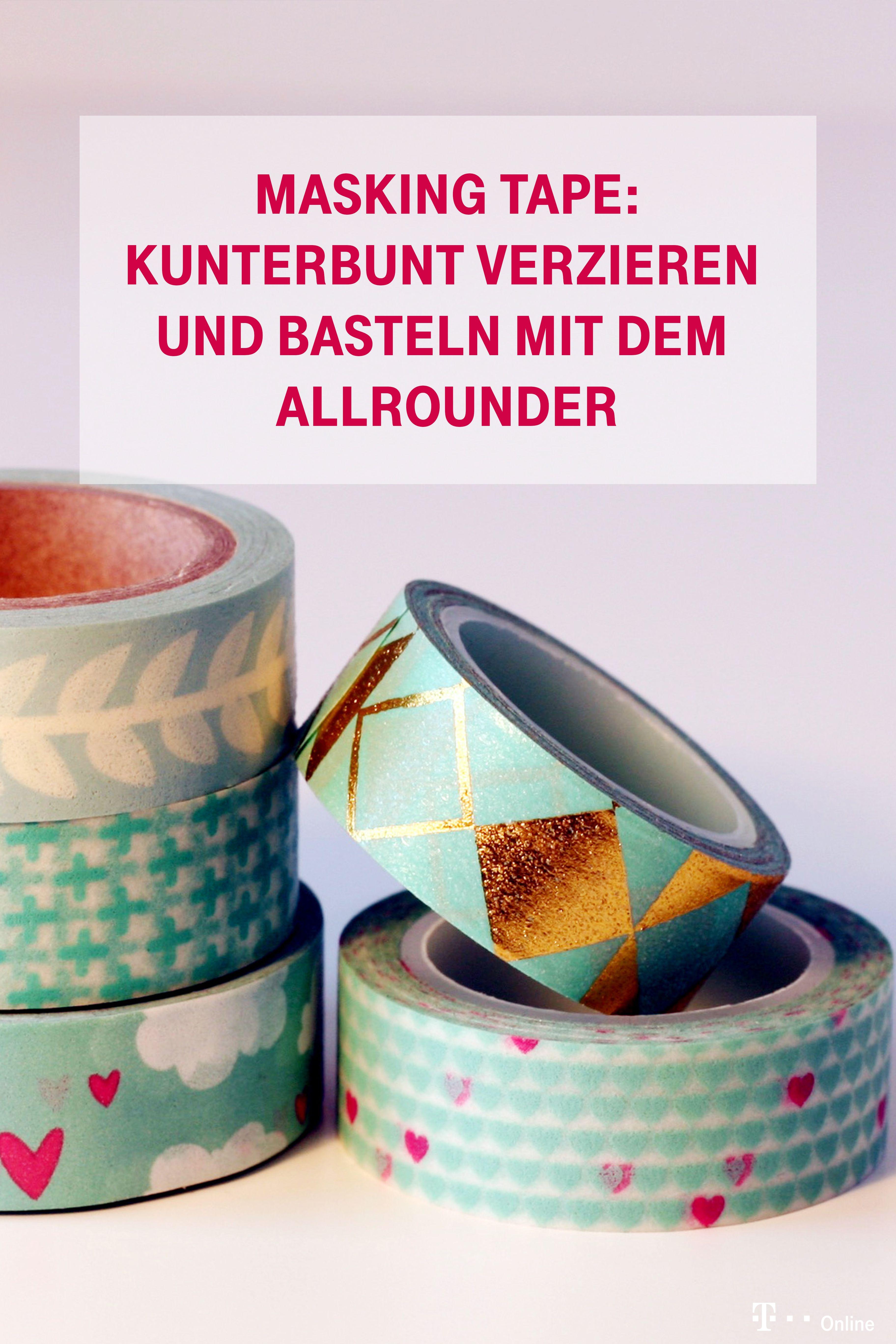 Masking Tape – Bunter Basteltrend aus Japan | Haus & Handwerken ...