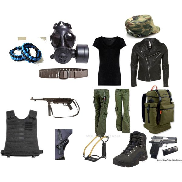 my survival clothes, created by aprill121 on Polyvore