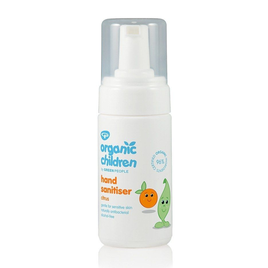 Organic Children Hand Sanitiser Fresh Citrus Green People Uk