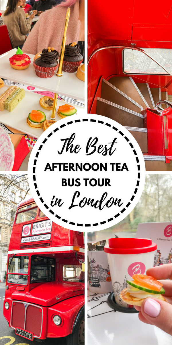 for a truly unique experience while in London? How about afternoon tea while riding on a vintage double-decker bus? Read all about my fun experience on B-Bakery's bus tour!Looking for a truly unique experience while in London? How about afternoon tea while riding on a vintage double-decker bus? Read all about my fun experience on B-Bakery's...