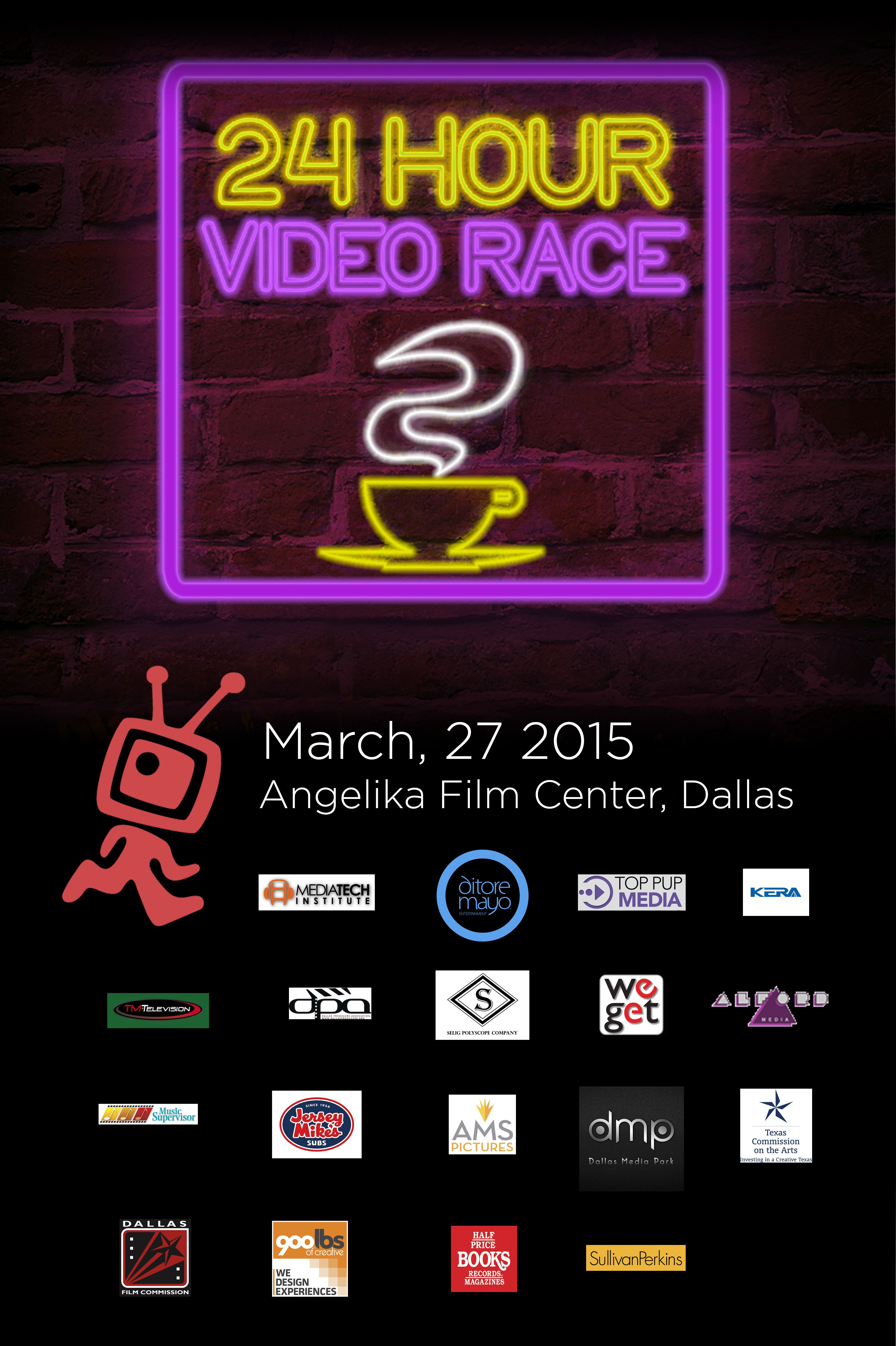 The 24 Hour Video Race starts this week at the Angelika