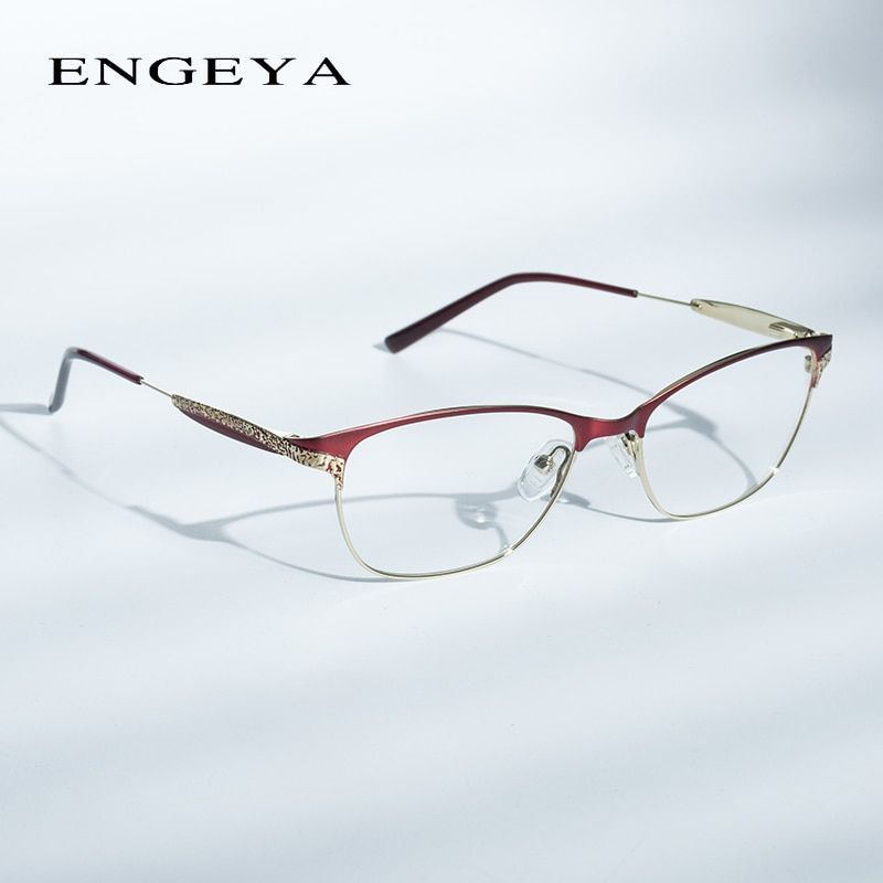 a6b0a99231 Alloy glasses frame women prescription eyewear fashion optical clear myopia  computer brand designer eyeglasses frame
