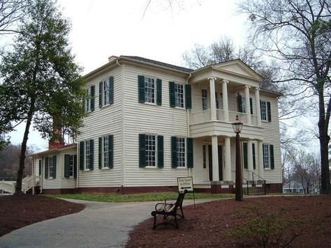 Mordecai House in Raleigh, NC built 1785 | Antebellum Homes