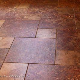 pinwheel pattern tile design ideas