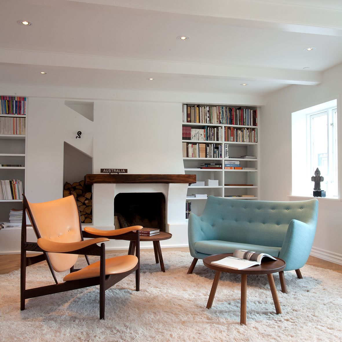 Finn juhl the baker sofa - Chieftain Chair Poet Sofa And Pelican Tables By House Of Finn Juhl