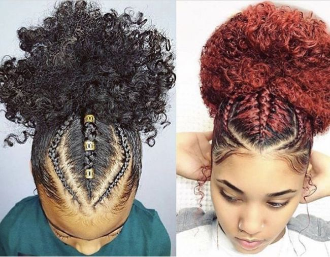 150 Awesome African American Braided Hairstyles #blackbraidedhairstyles 150 Awesome African American Braided Hairstyles # fulani Braids with yarn